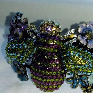 Kirks Folly Bumblebee Cuff Bracelet